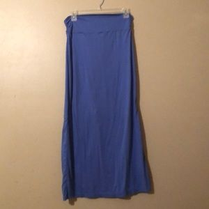 Blue Rue 21 Maxi Skirt - One Size